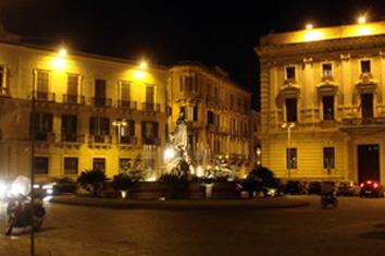 Piazza Archimede Syracuse
