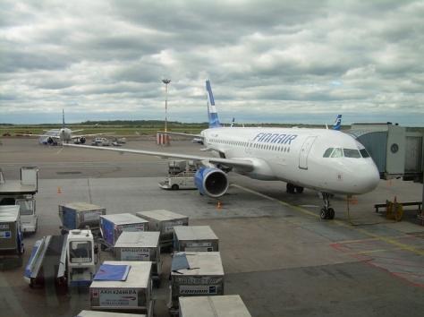 Flying with Finnair