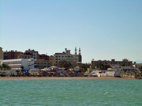 Hurghada_seen from the sea 2