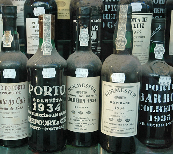 Portugal Sintra Vinho Verde And Old Port Wine European