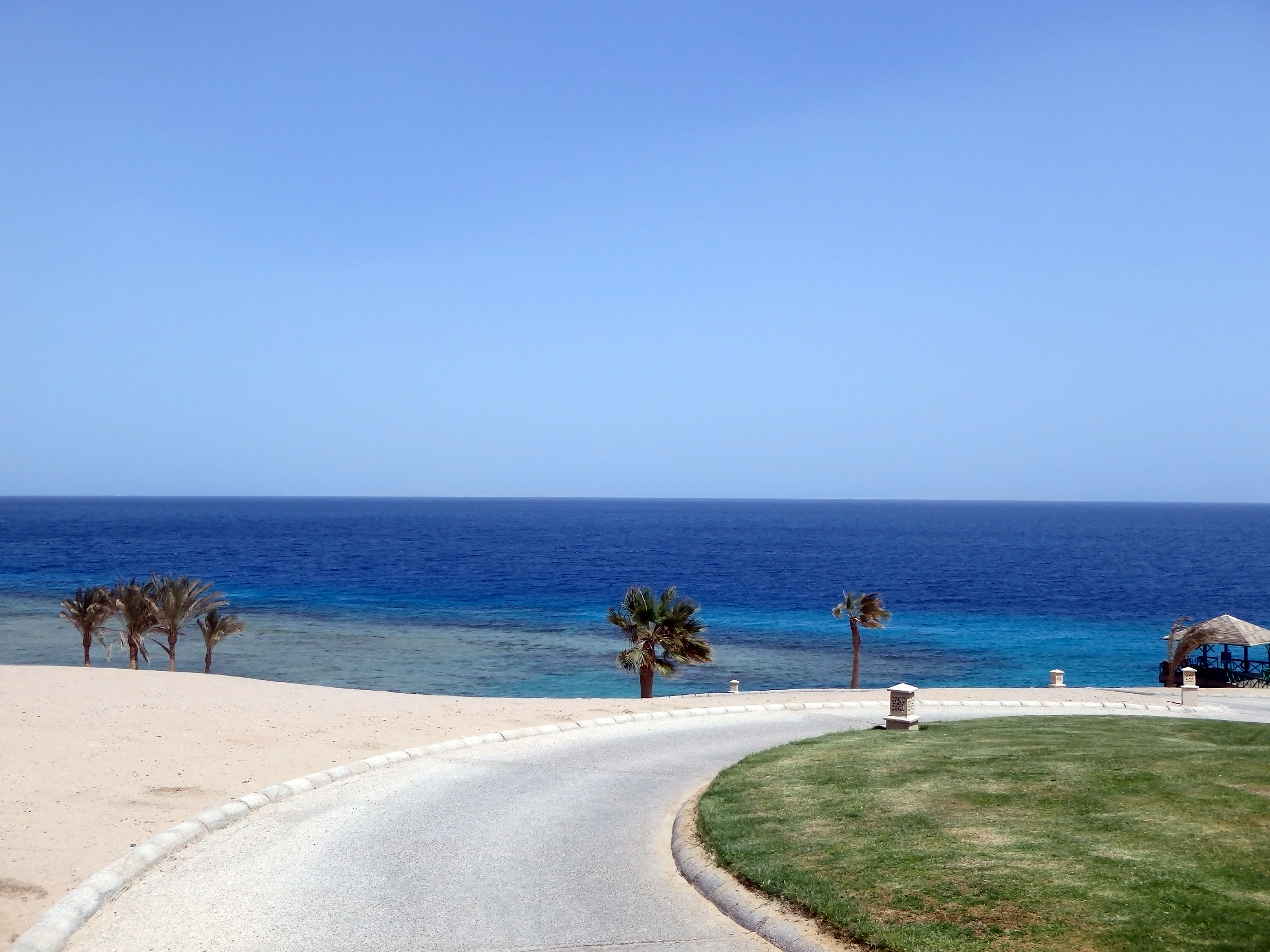 Walking To The Beach And The Red Sea